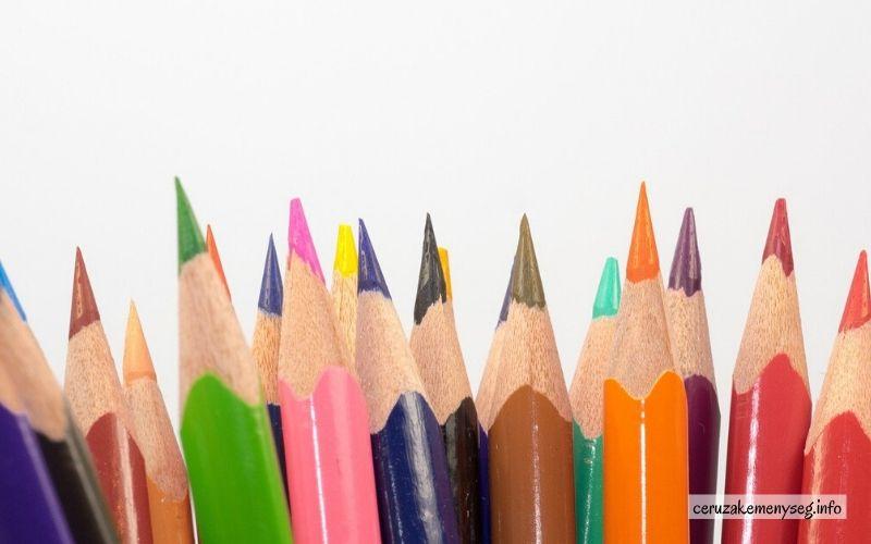 Színes ceruza fajták